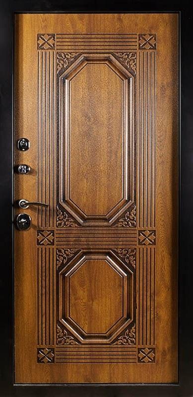 дверь уличная входная толстая металлическая